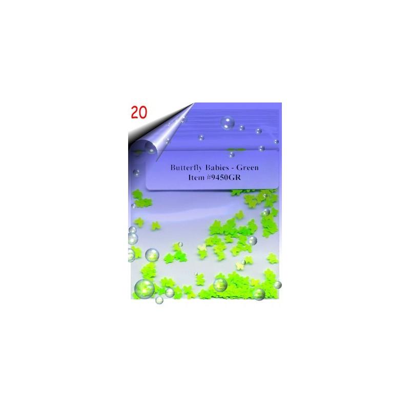 Nailart Shapes ~ Schmetterlinge Nr.20