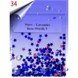 Nailart Shapes ~ Sterne Nr.34
