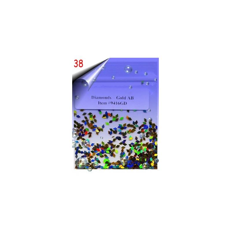 Nailart Shapes ~ Rauten Nr.38