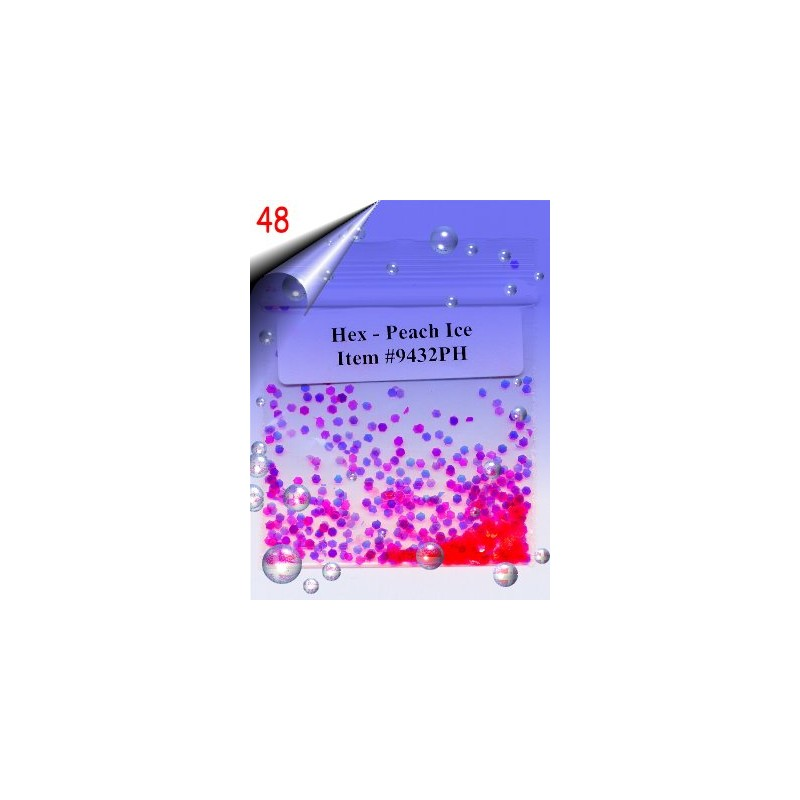 Nailart Shapes ~ Hexagone Nr.48