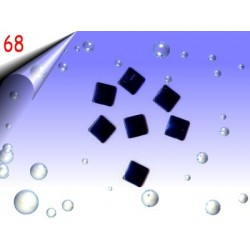Metall Nailart ~ Einleger Quadrat Nr.68