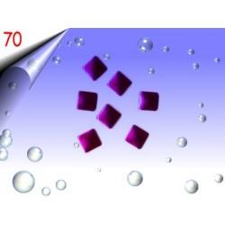 Metall Nailart ~ Einleger Quadrat Nr.70