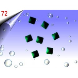 Metall Nailart ~ Einleger Quadrat Nr.72
