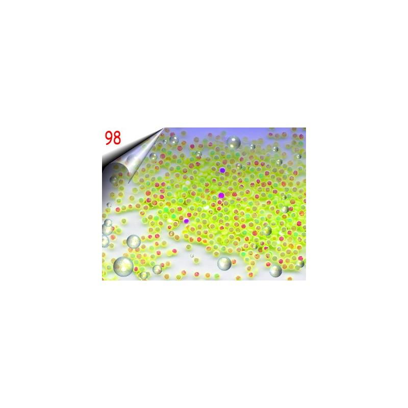 Shapes Neon Nailart ~ Einleger Rund Nr.98