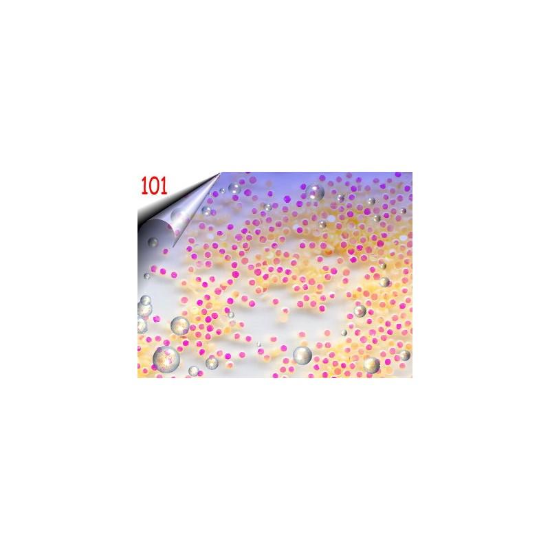 Shapes Neon Nailart ~ Einleger Rund Nr.101