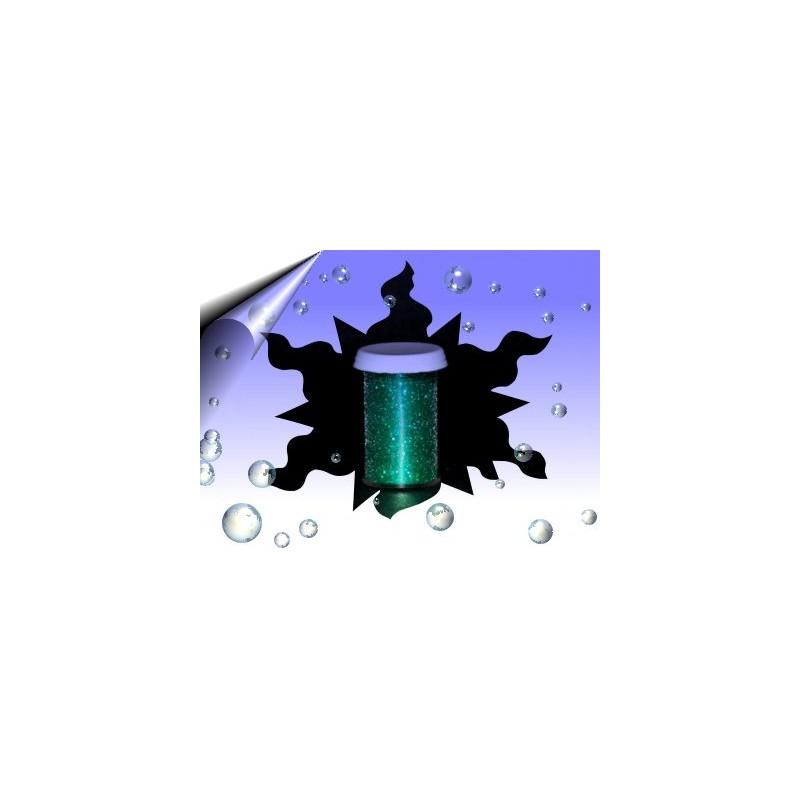 Nailart Glitter Pigment Emerald Nr.6