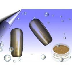 Mirror Chrom Pigment Pulver Gold