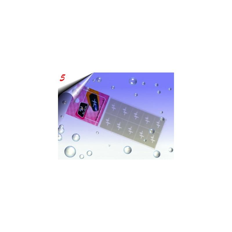 Nailart Airbrush Papier Schablone Nr.5