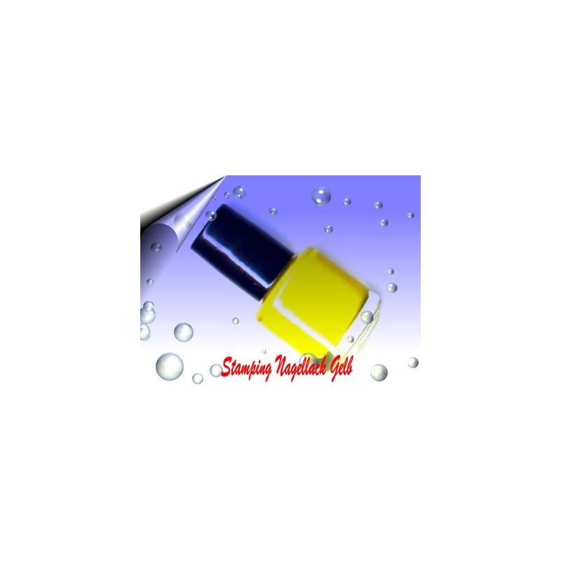 Nail Stamping Lack Gelb 7ml