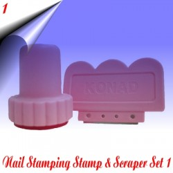 Stamp & Scraper Set Nr.1