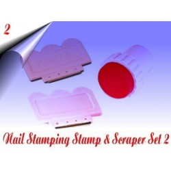Stamp & Scraper Set Nr.2