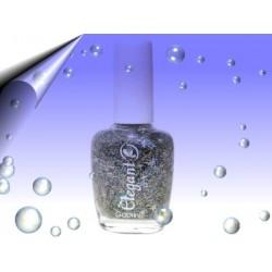Glitter Nagellack 16ml ~ Partikeln Multi Silber Nr.5