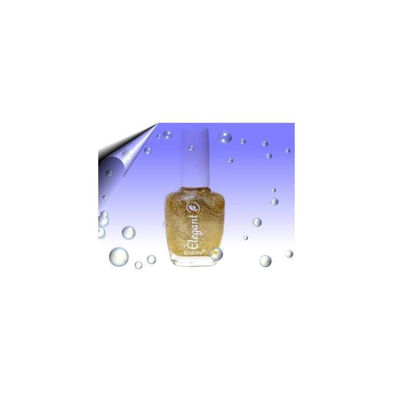 Glitter Nagellack 16ml ~ Partikeln Gold Nr.7