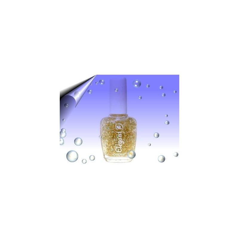 Glitter Nagellack 16ml ~ Partikeln Multi Gold Nr.8