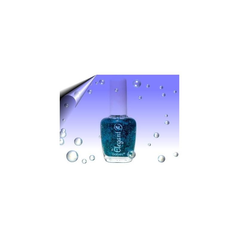 Glitter Nagellack 16ml ~ Partikeln Blau Nr.11