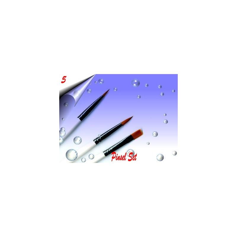 Nagelmodellage Gel Pinsel Set Nr.5