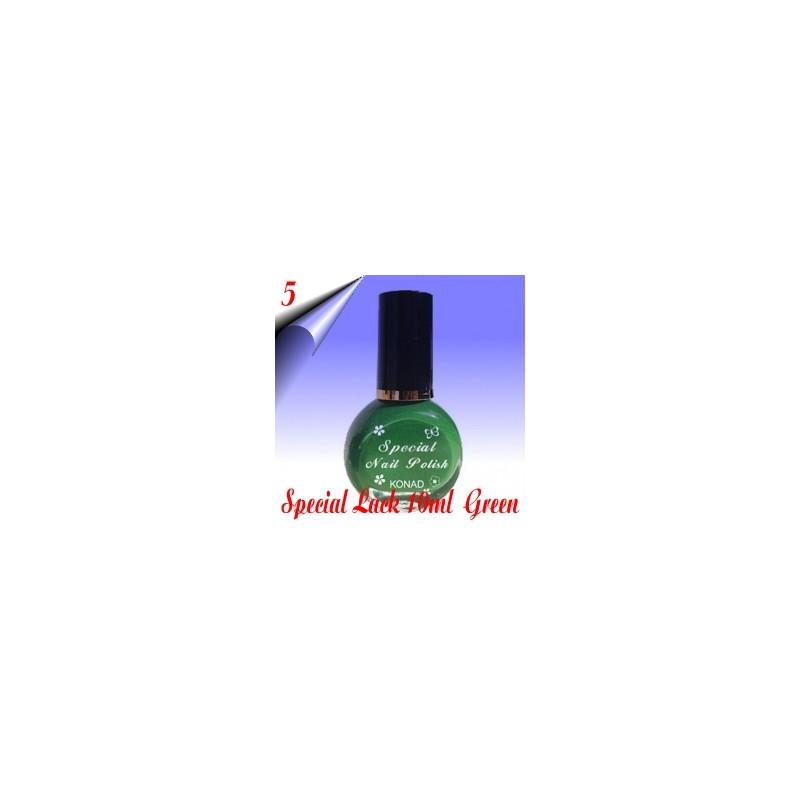 Original Konad Nail Stamping Nagellack Grün 10ml Nr.5