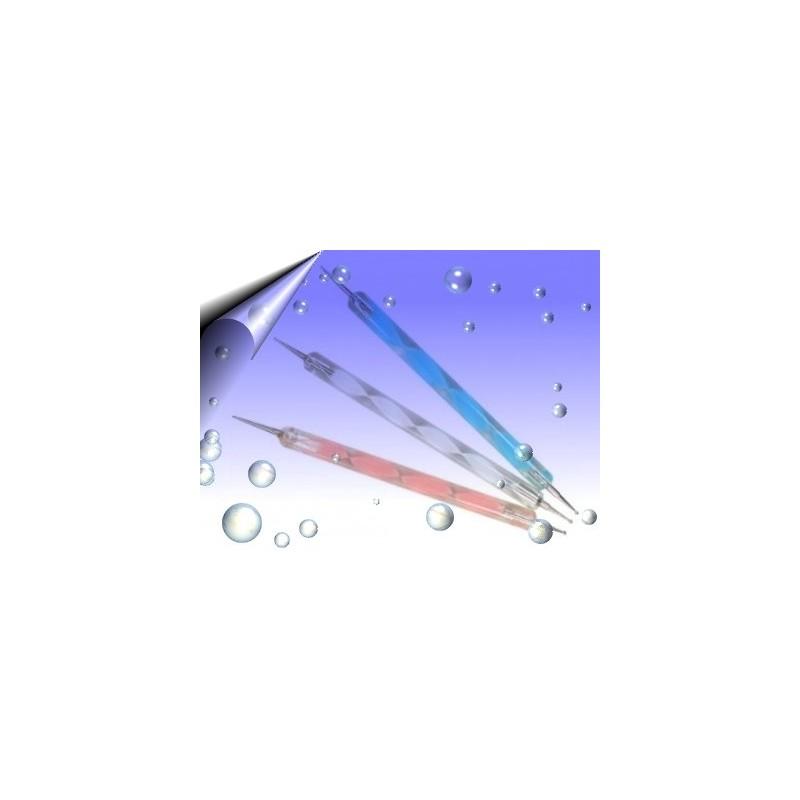 Doppel Spot Swirl ~ Dotting Tool in 3 Farben