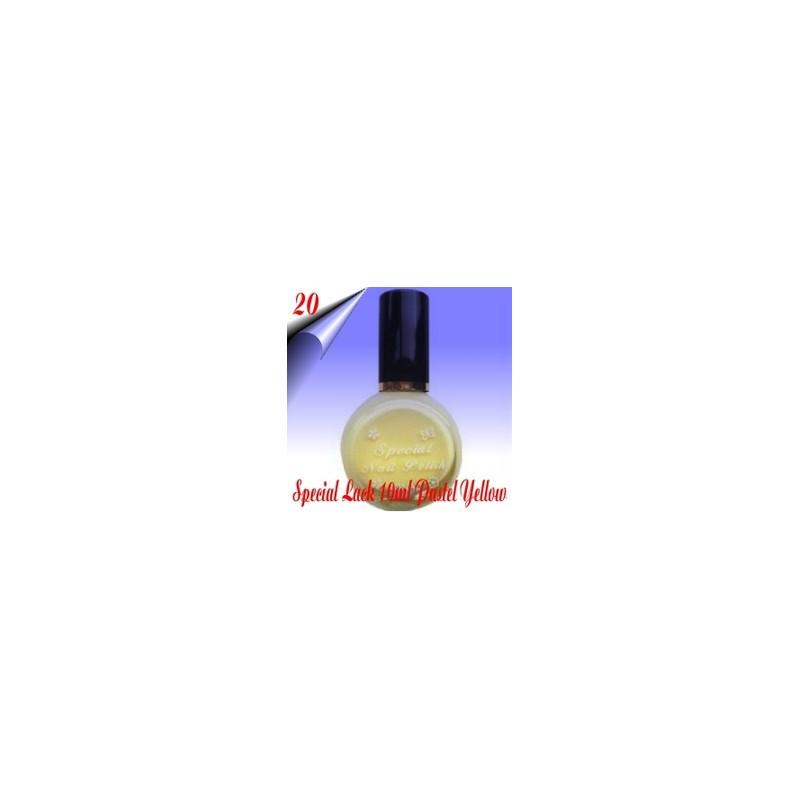 Original Konad Nail Stamping Nagellack Pastellgelb 10ml Nr.20