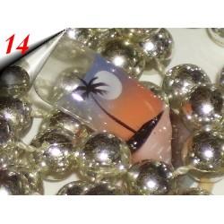 Airbrush Nageltips Blibox 20 Stück Nr.14