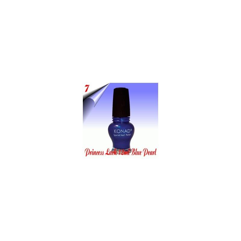 Original Konad Nail Stamping Princess Lack Blue Pearl Nr.7