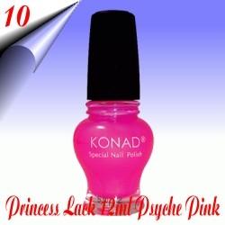 Original Konad Nail Stamping Princess Lack Psyche Pink Nr.10