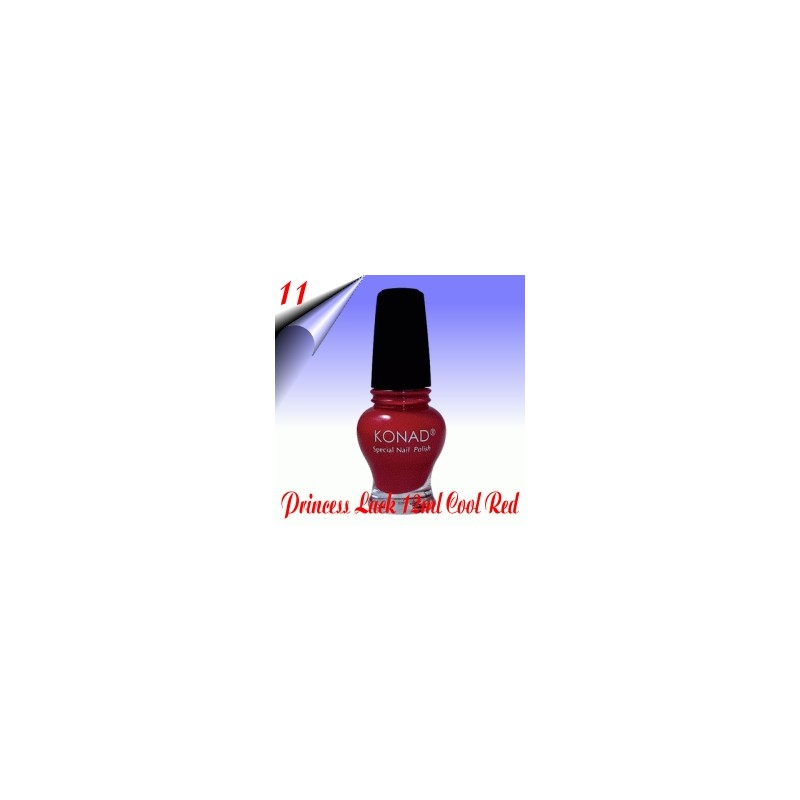 Original Konad Nail Stamping Princess Lack Cool Red Nr.11