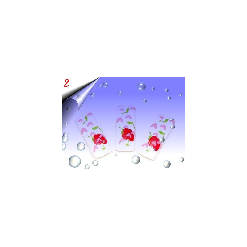 Airbrush Designer Nagel Tips Nr.2 ~ 70 Stück inkl. Tipbox