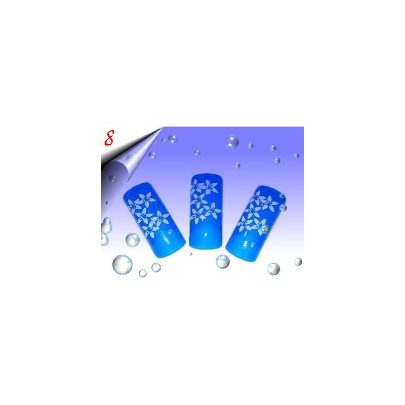 Airbrush Designer Nagel Tips Nr.8 ~ 70 Stück inkl. Tipbox