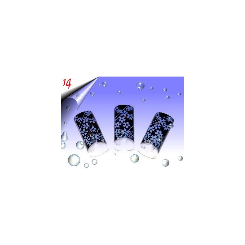 Airbrush Designer Nagel Tips Nr.14 ~ 70 Stück inkl. Tipbox
