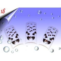 Airbrush Designer Nagel Tips Nr.18 ~ 70 Stück inkl. Tipbox