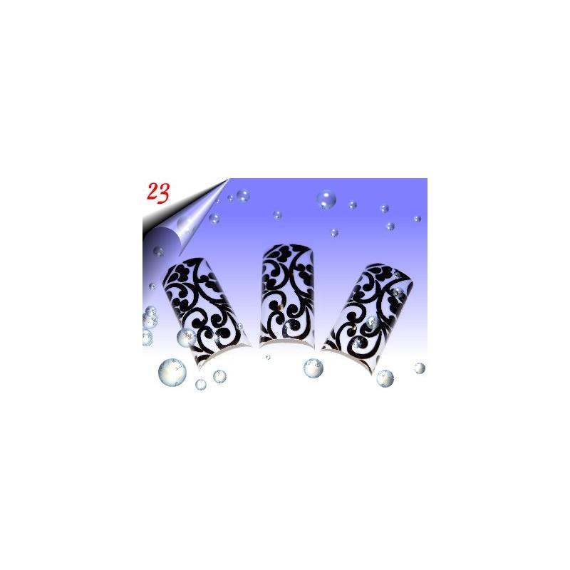 Airbrush Designer Nagel Tips Nr.23 ~ 70 Stück inkl. Tipbox