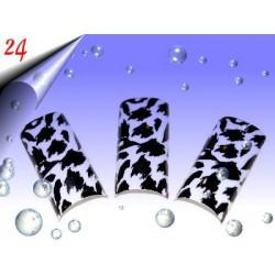 Airbrush Designer Nagel Tips Nr.24 ~ 70 Stück inkl. Tipbox