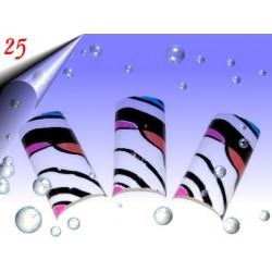 Airbrush Designer Nagel Tips Nr.25 ~ 70 Stück inkl. Tipbox