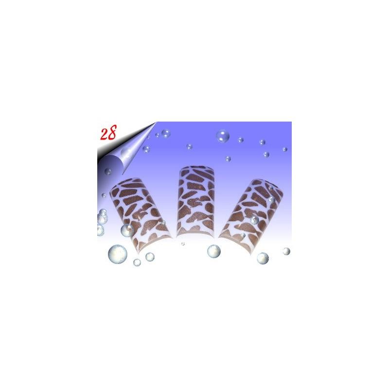 Airbrush Designer Nagel Tips Nr.28 ~ 70 Stück inkl. Tipbox