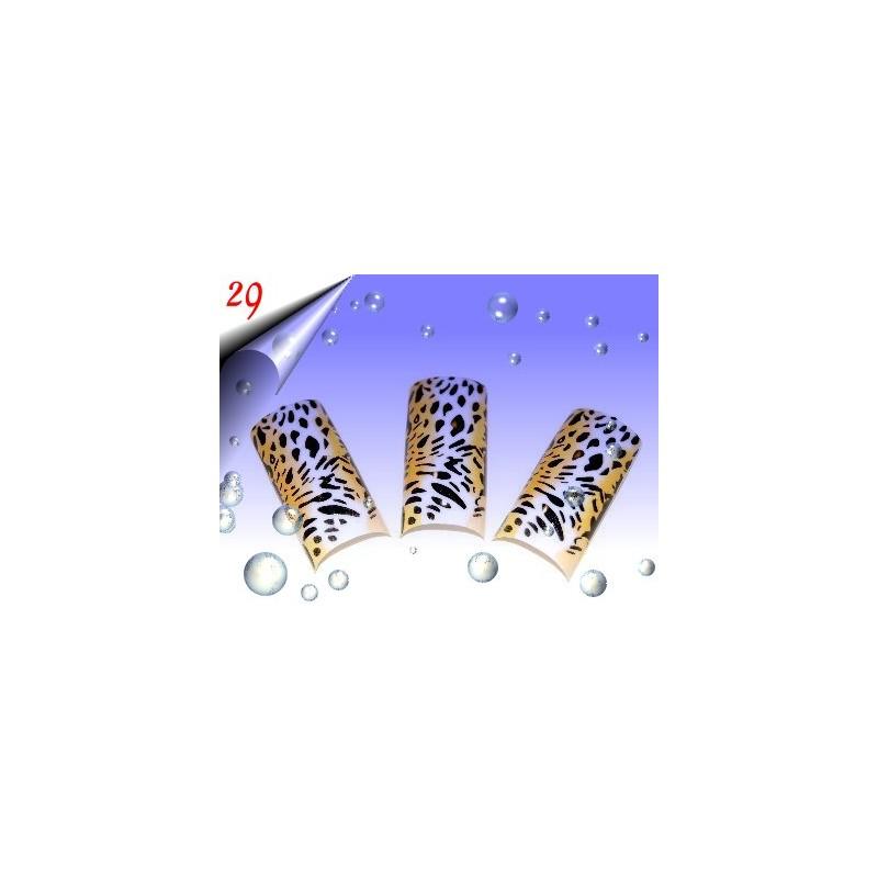 Airbrush Designer Nagel Tips Nr.29 ~ 70 Stück inkl. Tipbox