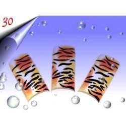 Airbrush Designer Nagel Tips Nr.30 ~ 70 Stück inkl. Tipbox