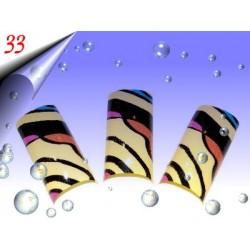 Airbrush Designer Nagel Tips Nr.33 ~ 70 Stück inkl. Tipbox