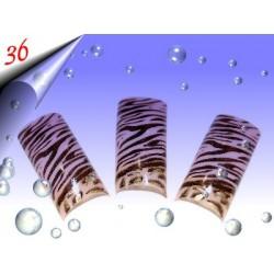 Airbrush Designer Nagel Tips Nr.36 ~ 70 Stück inkl. Tipbox