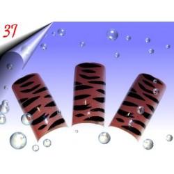 Airbrush Designer Nagel Tips Nr.37 ~ 70 Stück inkl. Tipbox
