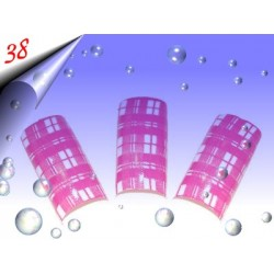 Airbrush Designer Nagel Tips Nr.38 ~ 70 Stück inkl. Tipbox