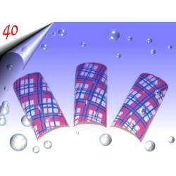 Airbrush Designer Nagel Tips Nr.40 ~ 70 Stück inkl. Tipbox