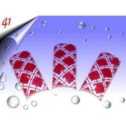 Airbrush Designer Nagel Tips Nr.41 ~ 70 Stück inkl. Tipbox