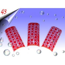 Airbrush Designer Nagel Tips Nr.43 ~ 70 Stück inkl. Tipbox