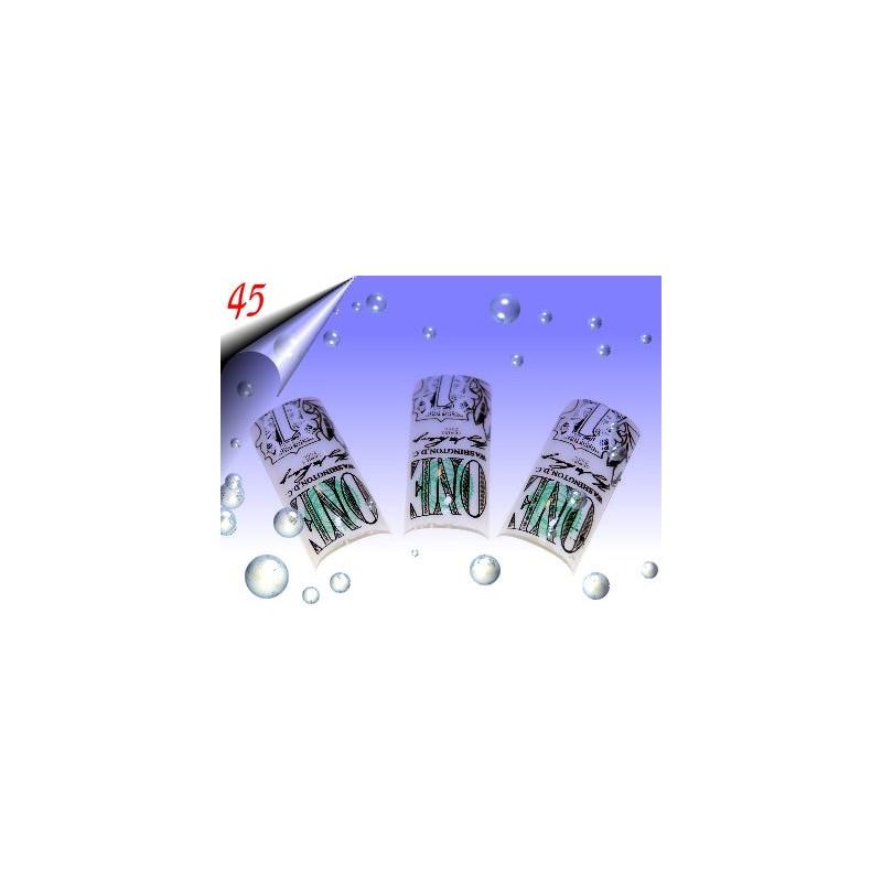 Airbrush Designer Nagel Tips Nr.45 ~ 70 Stück inkl. Tipbox