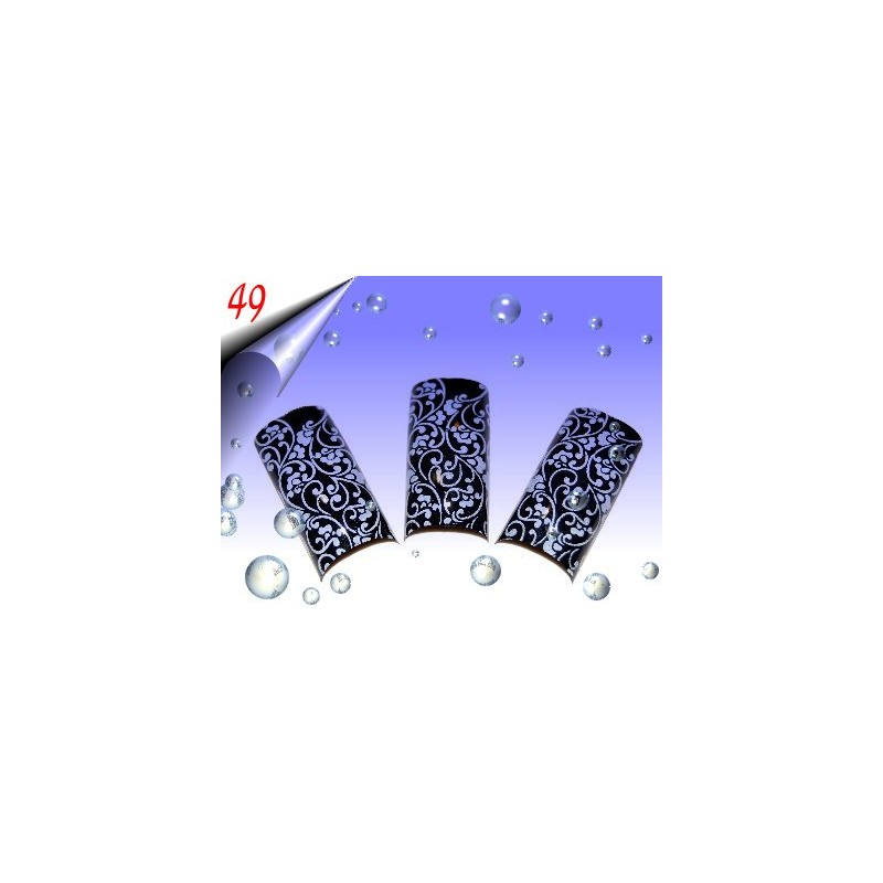 Airbrush Designer Nagel Tips Nr.49 ~ 70 Stück inkl. Tipbox