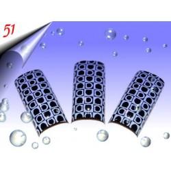 Airbrush Designer Nagel Tips Nr.51 ~ 70 Stück inkl. Tipbox