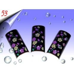 Airbrush Designer Nagel Tips Nr.53 ~ 70 Stück inkl. Tipbox