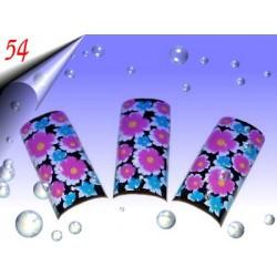 Airbrush Designer Nagel Tips Nr.54 ~ 70 Stück inkl. Tipbox