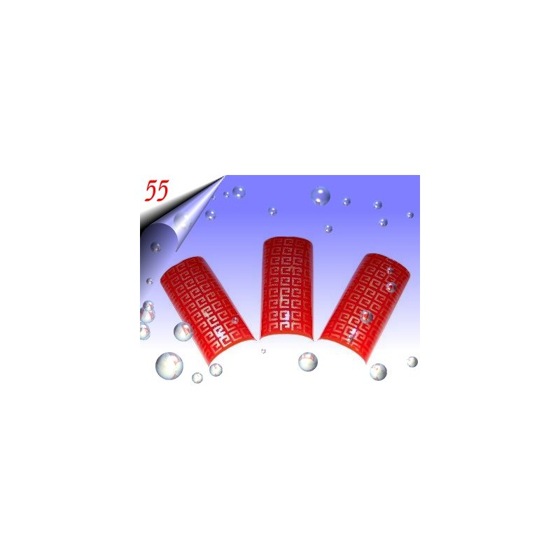 Airbrush Designer Nagel Tips Nr.55 ~ 70 Stück inkl. Tipbox